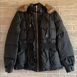 Jouicy Couture Black Puffer Jacket